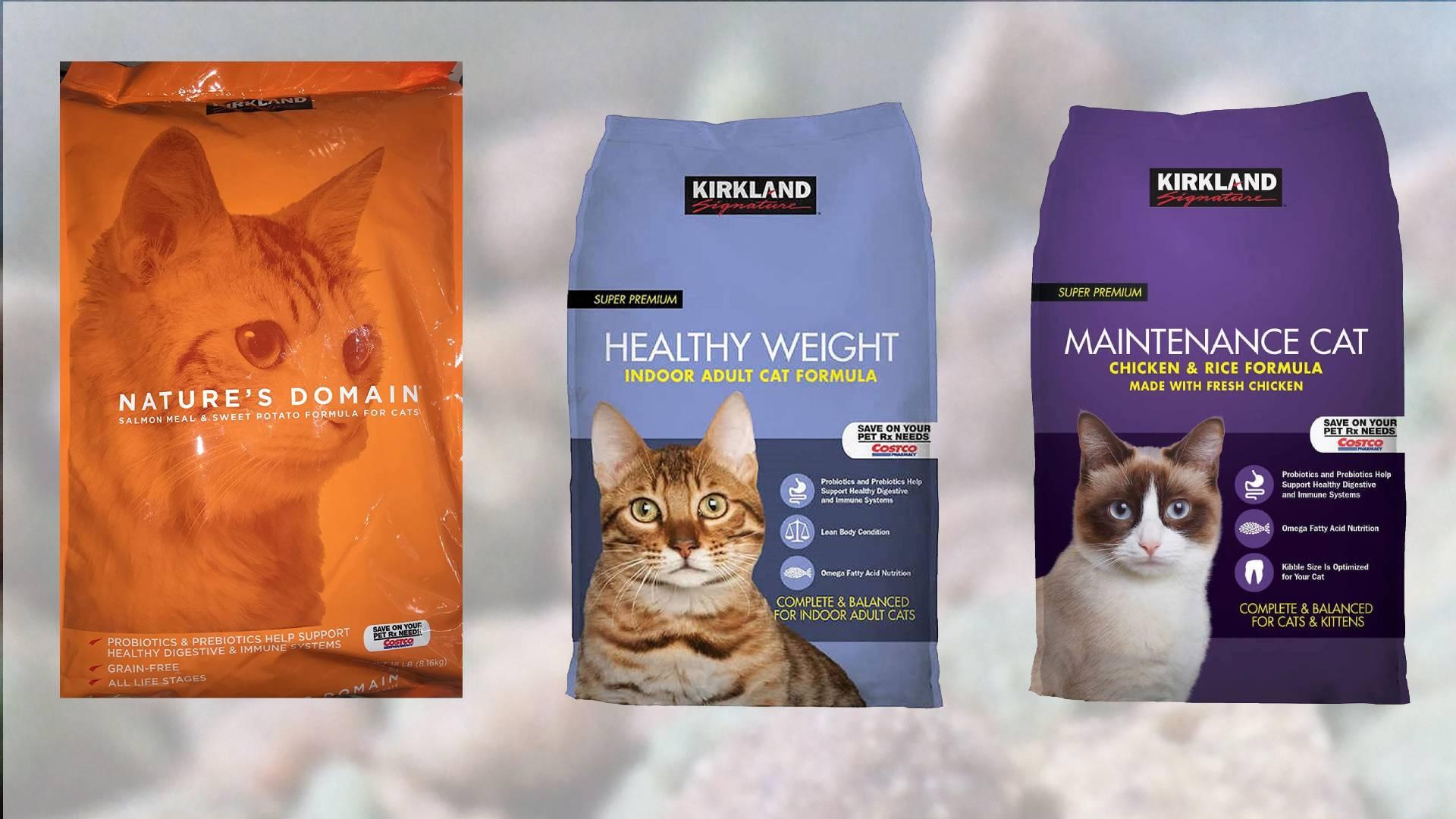 Revisión de la comida para gatos Kirkland
