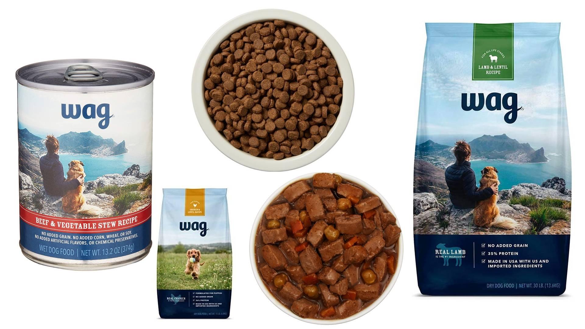 Revisión de la comida para perros Wag